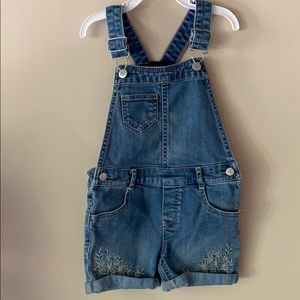 Oshkosh denim overalls shorts shortalls